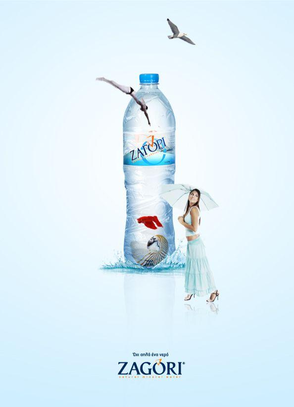 Print Campaign Proposal For Zagori Natural Mineral Water