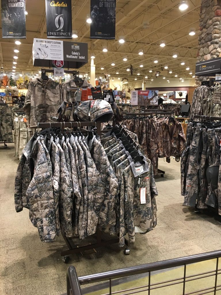Went to Cabela's for the first time today and it was like walking into an empty warehouse. #Followme #CooliPhone6Case on #Twitter #Facebook #Google #Instagram #LinkedIn #Blogger #Tumblr #Youtube