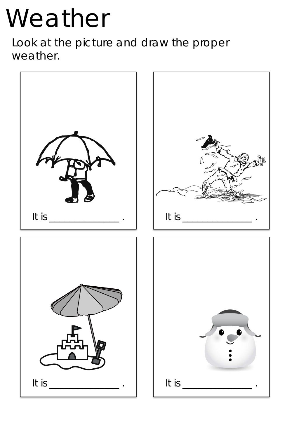 Esl Worksheets And Activities For Kids In