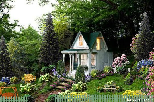 Garden design:Just a quiet place to get well