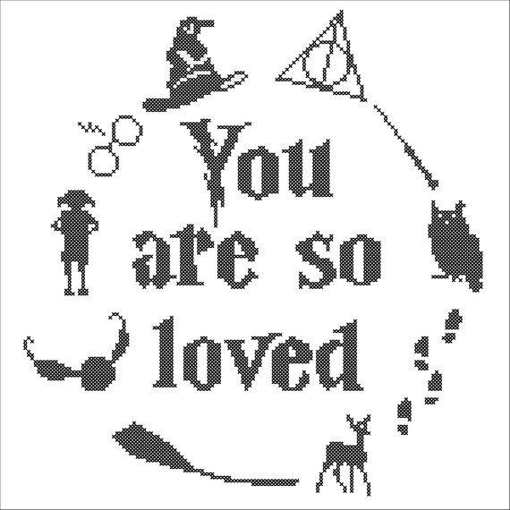 Download BOGO FREE Harry Potter Logo You are so loved owl lightning ...