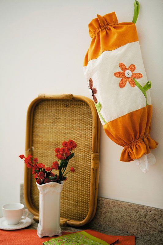 Puxa-sacos de patchwork