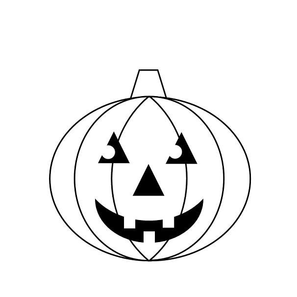 Jack O Lantern Easy To Draw Download Template Jack O Lantern Faces Jack O Lantern Lantern Drawing