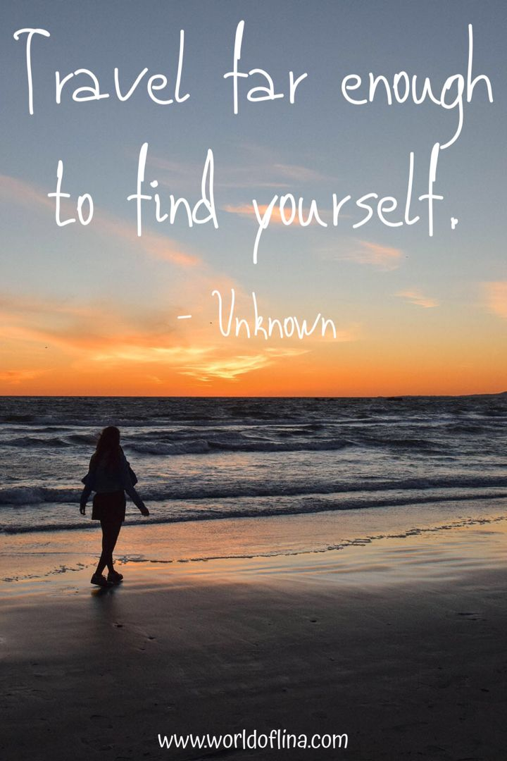 50 Best Solo Travel Quotes - Inspiring Travel Alone Quotes - World of Lina
