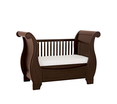 Larkin Fixed Gate Sleigh Crib Pottery Barn Kids Baby