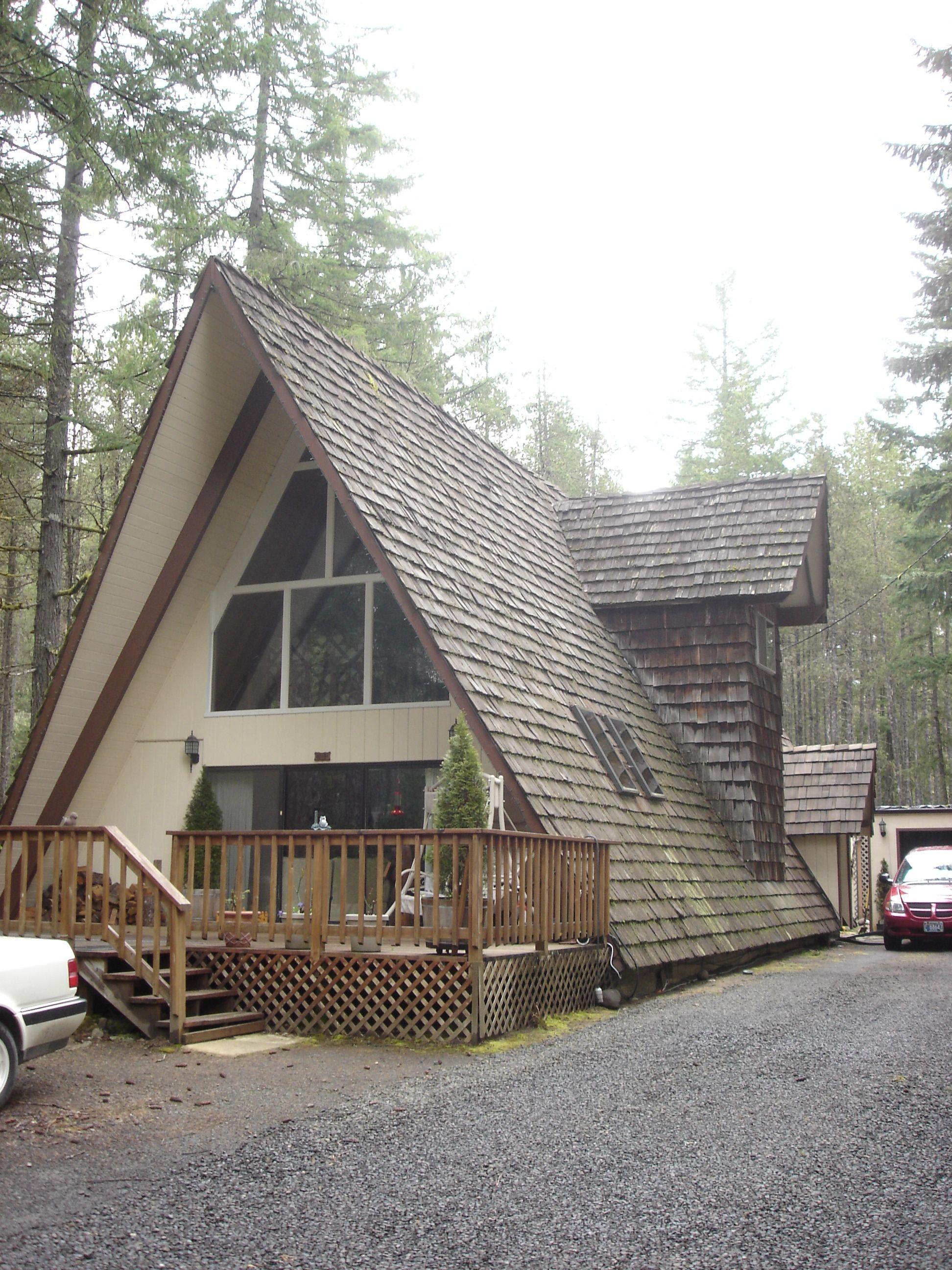 a frame houses | House Frame. The shingles are cute, but I would ...