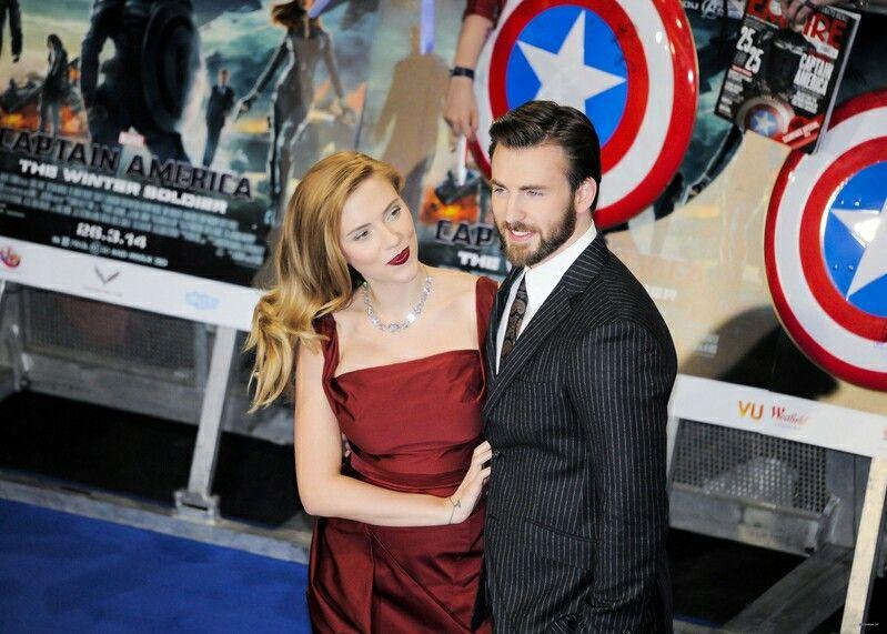 Scarlett and Chris 2014
