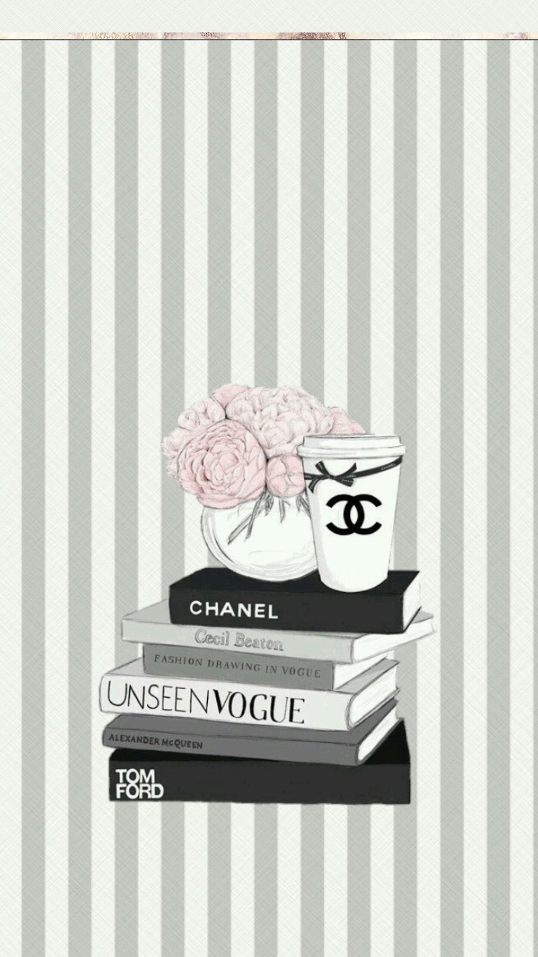 ❄WALLPAPERS❄ — Chanel wallpapers For book lovers who love to binge new novels with loads of coffeeee
