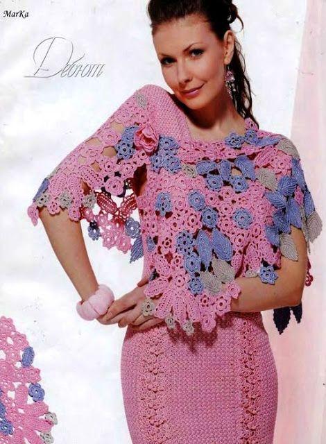 shawls search - Crochet golden shawl