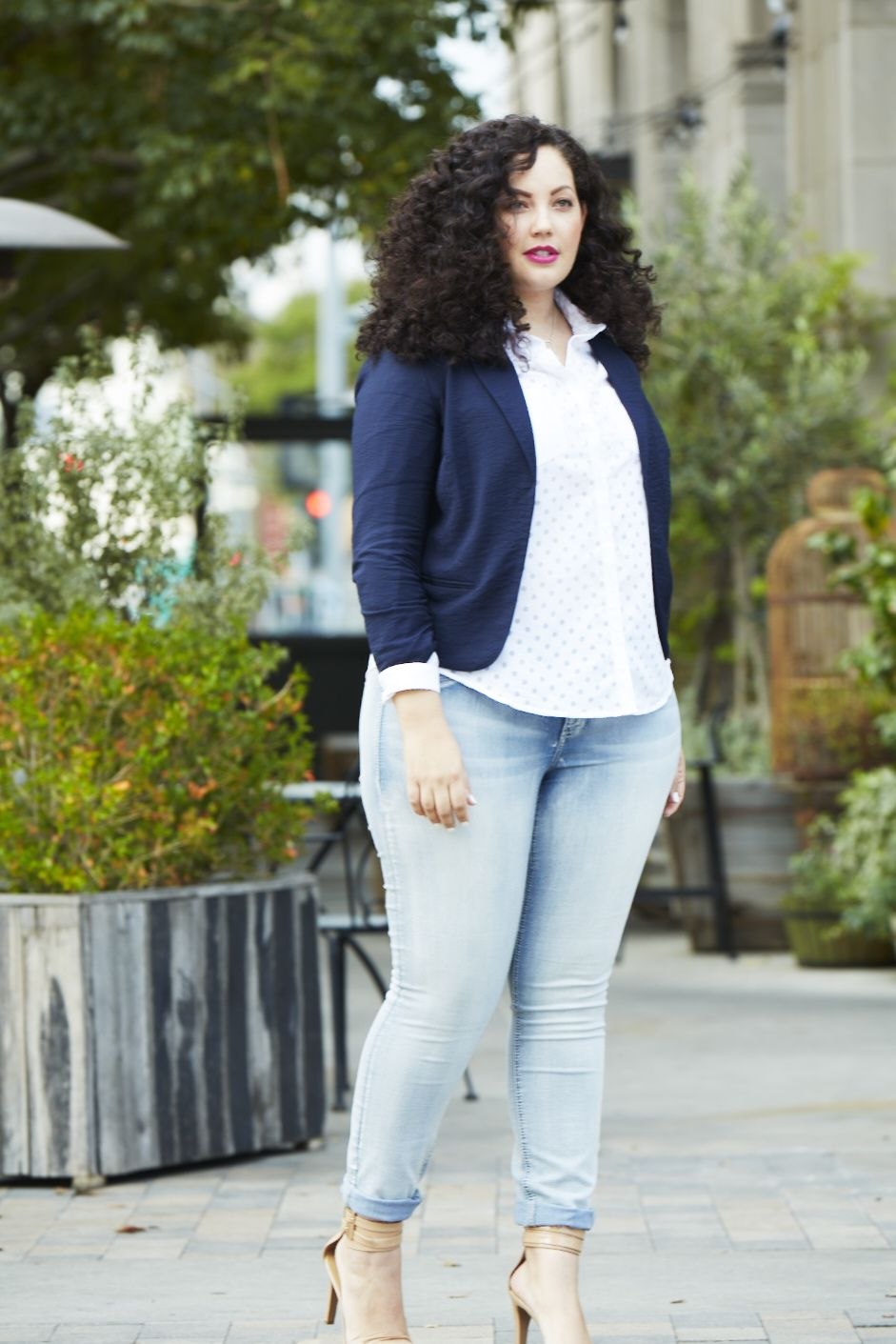 Plus size blogger Girl with Curves wearing her maurices faves. | maurices blog | Pinterest ...