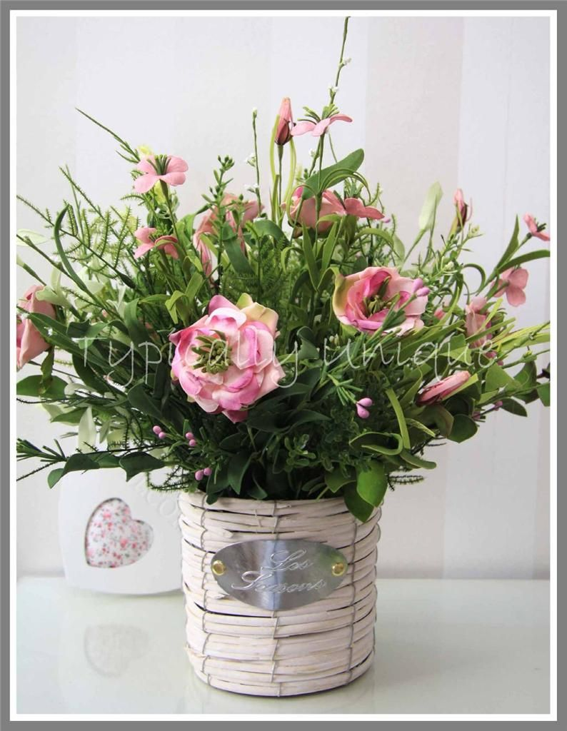 Artificial Silk Flower Arrangement available on eBay www