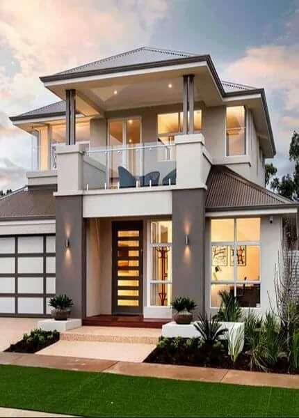 Home Design Ideas Elevation: 62 Gambar Rumah Minimalis 2 Lantai Modern Terindah Dan