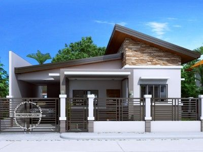 Maryanne One Storey With Roof Deck Shd 2015025 Modern