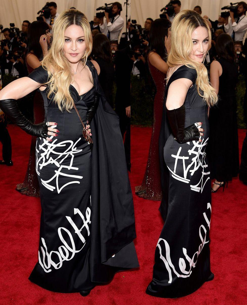 A evolução dos looks de Madonna no Met Ball | SAPO Lifestyle