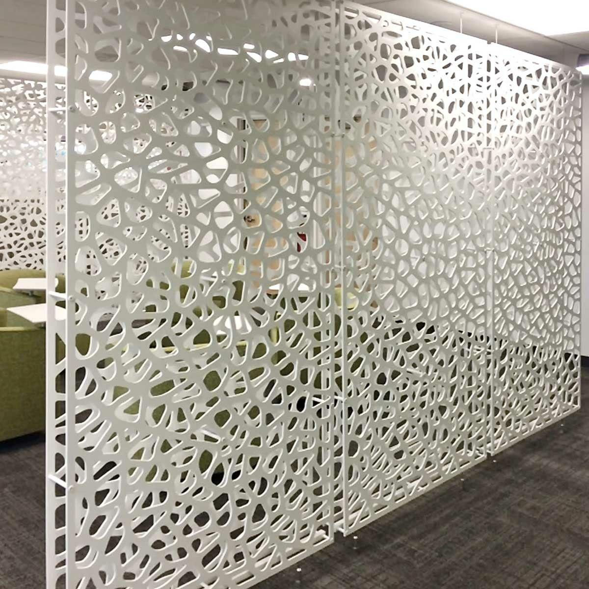 White Room Divider Screen