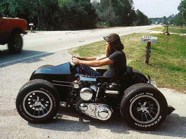 Harley Davidson Softail Sidecar Installation