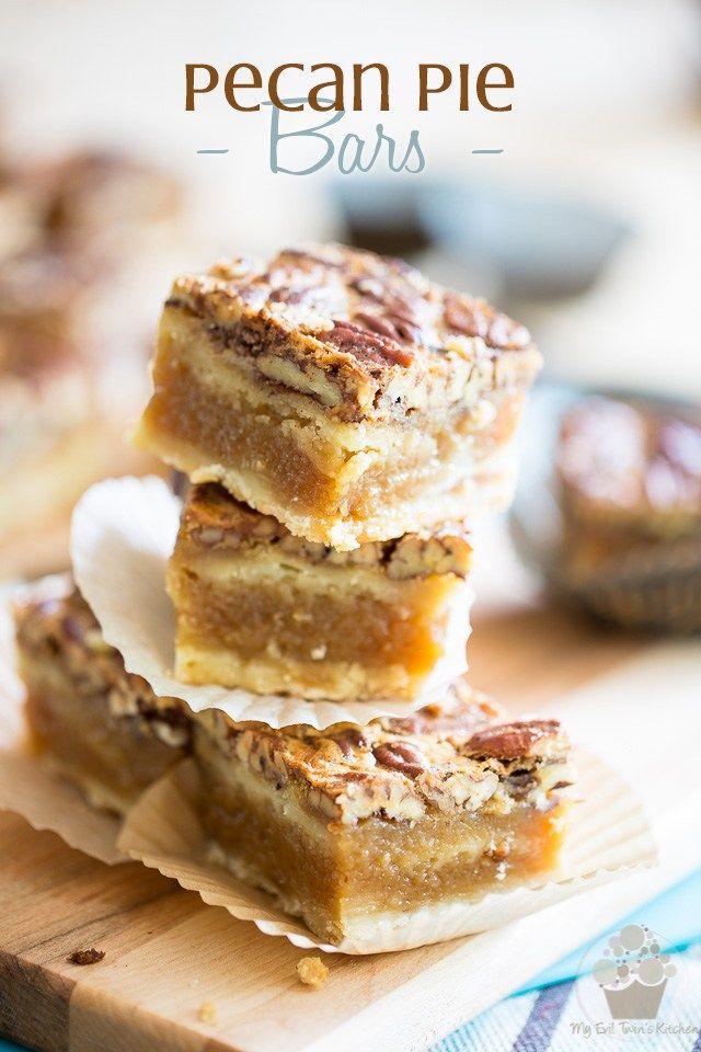 Pecan Pie Bars | eviltwin.kitchen