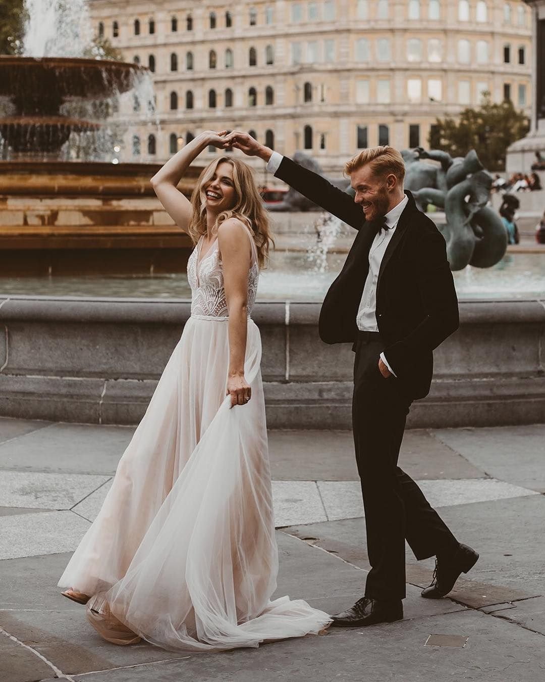 """fe64b98e1ac4 Annalise Bridal Boutique (@annalisebridal) on Instagram: """"Dancing with your  prince charming in front of a beautiful wishing well... casual! We know  you're…"""