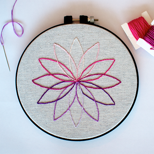 Modern Embroidery Pattern Embroidery Embroidery Embroidery