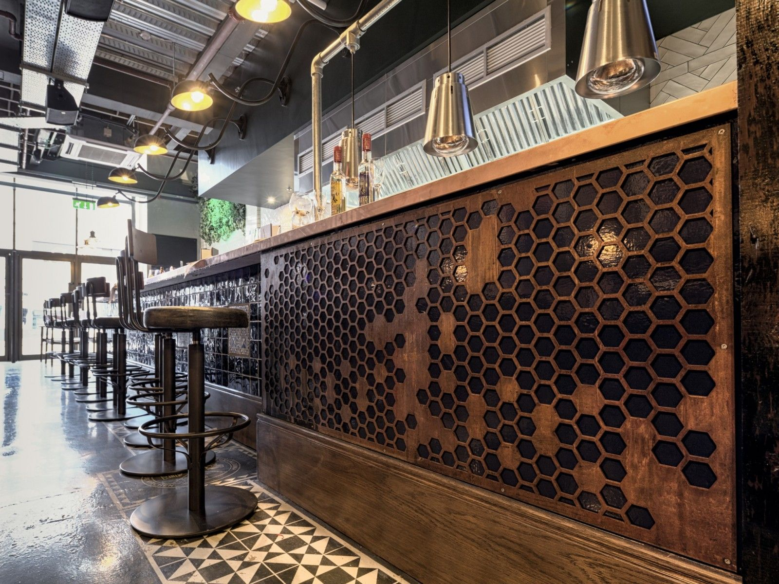 corten bar fronts designed by Normal TM  Bar in 2019