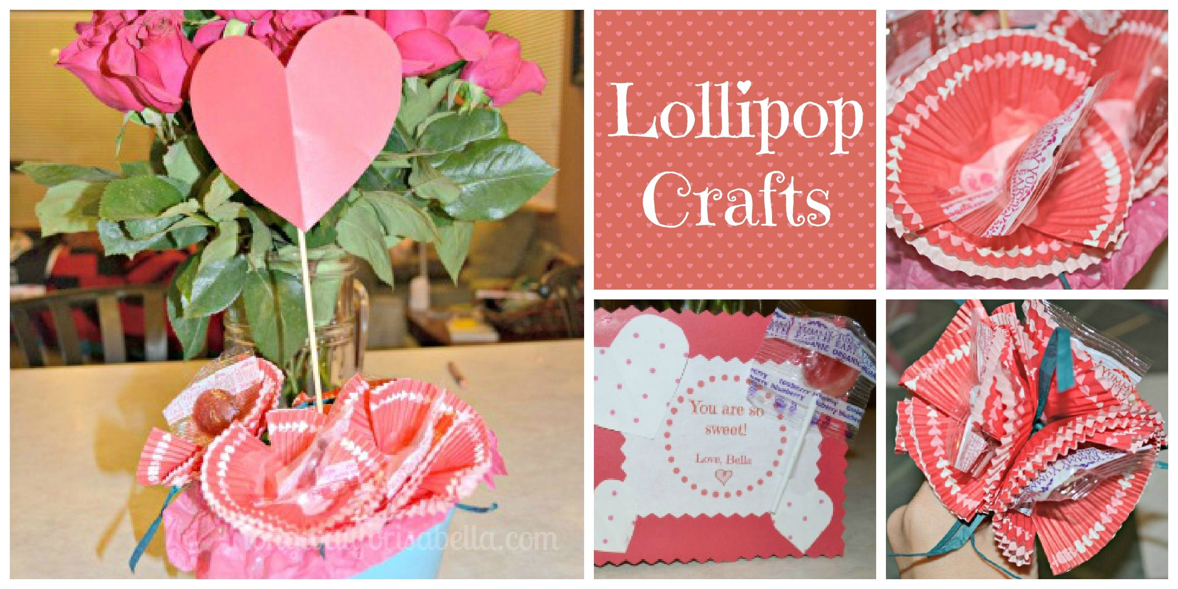 Lollipop Crafts With Yumearth Organic Crafts