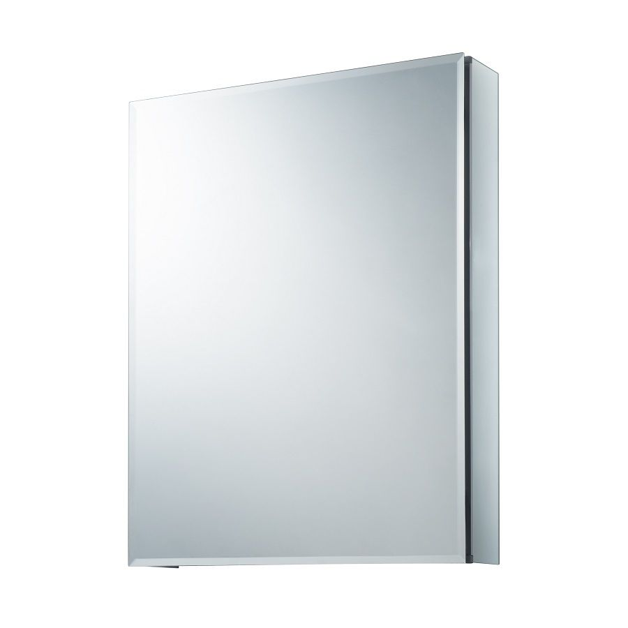 Allen Roth 20 In X 26 In Rectangle Surface Recessed Mirrored Aluminum Medi Recessed Medicine Cabinet Mirror Recessed Medicine Cabinet Medicine Cabinet Mirror
