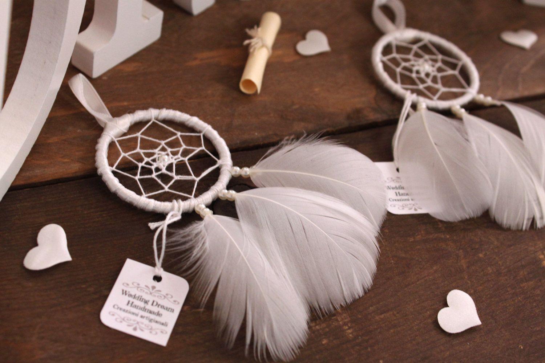 Segnaposto Matrimonio Artigianali.Dreamcatcher Wedding Placemats Boho Chic Favors Elegant Marriage