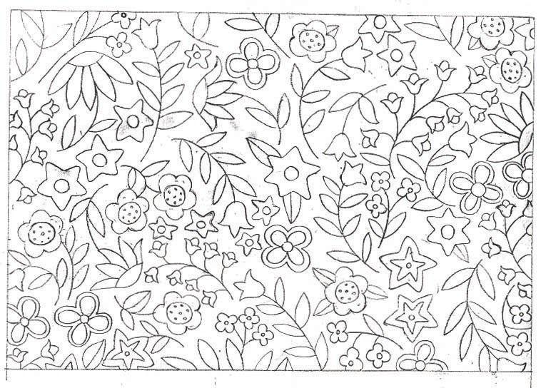Blanket Of Flowers 2 Bordado Pinterest Bordado