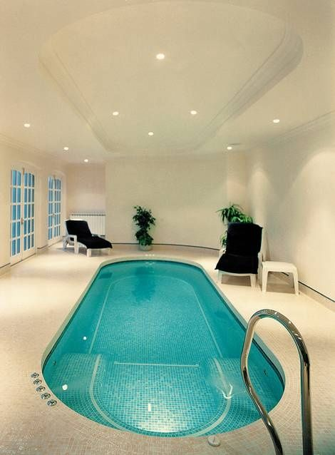 indoor-home-pool-utterly-luxury | swimming pools & attached ...