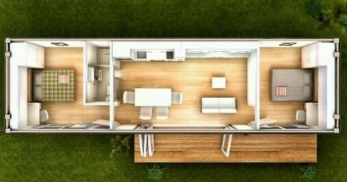 40 Shipping Container Tiny House Tinytainer Container