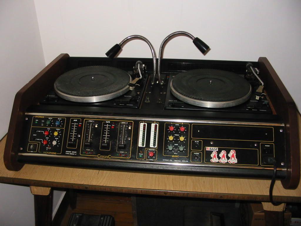 Citronic kansas old school dj equipment stereo pinterest