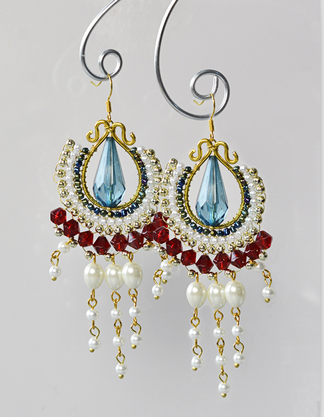 PandaHall Inspiration Project---Beading Dangle Earrings with