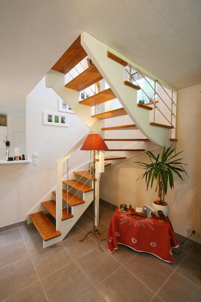 île BERDER #escaliers bois et tendance #POTIER Escalier
