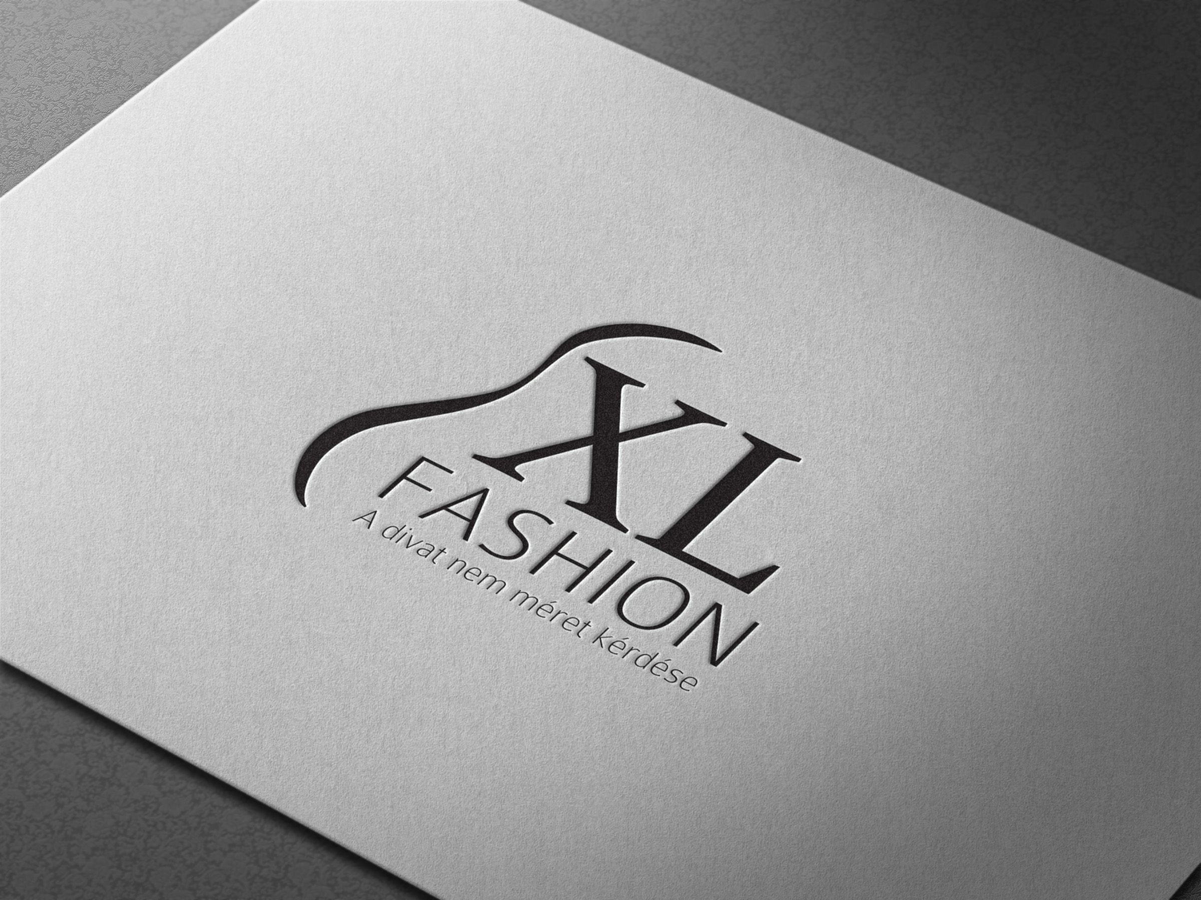 XL Fashion Logo Mockup Business logo design, Logo design