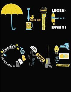 How I Met Your Mother Umbrella Wallpaper