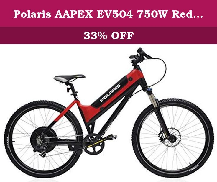 Polaris Aapex Ev504 750w Red Black Polaris Aapex The Polaris Appex Is A High Speed Trail Bike That Offers Good Balance On Electric Bicycle Bicycle Cool Bikes