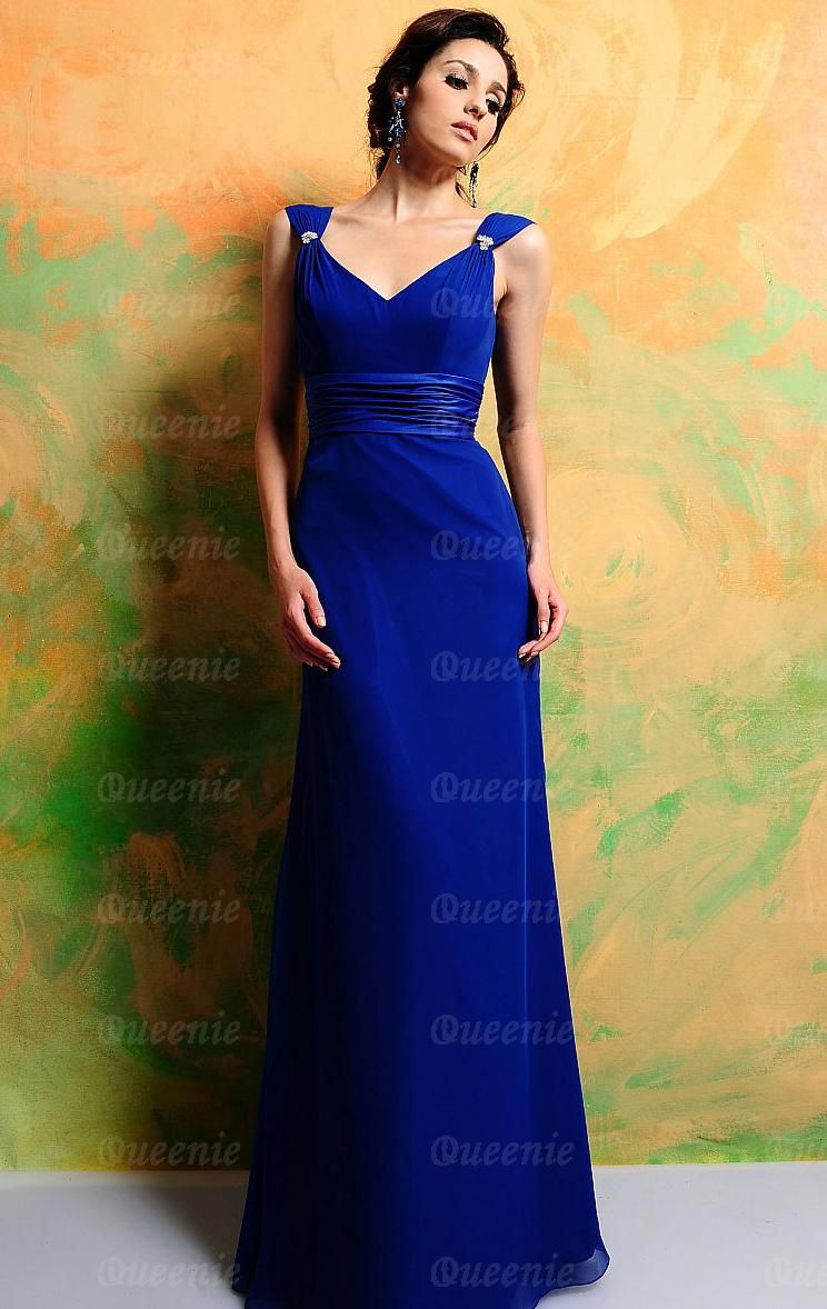 Blue Formal Dresses Can Make You Are in Perfect Appearance ...