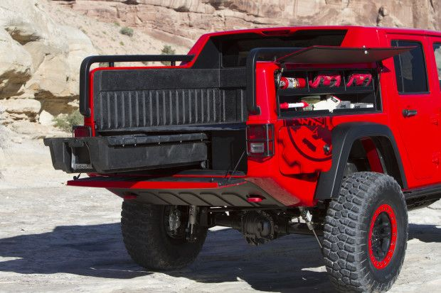 Jeep Wrangler Red Rock Responder Concept What It S Like To Drive