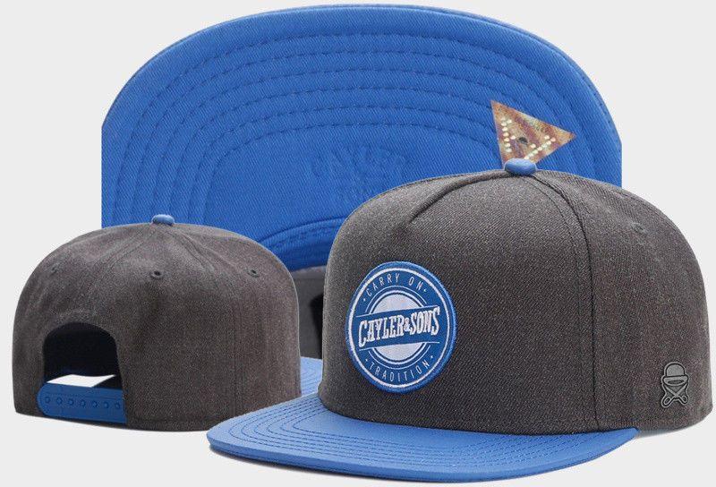 Hip Hop Men s Cayler Sons Cap Adjustable Baseball Snapback Street Blue Hat 343fa359f2ba