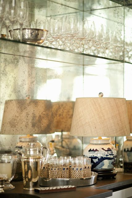 Wet Rooms Design: Backsplash Idea For A Butler's Pantry Or Bar Area