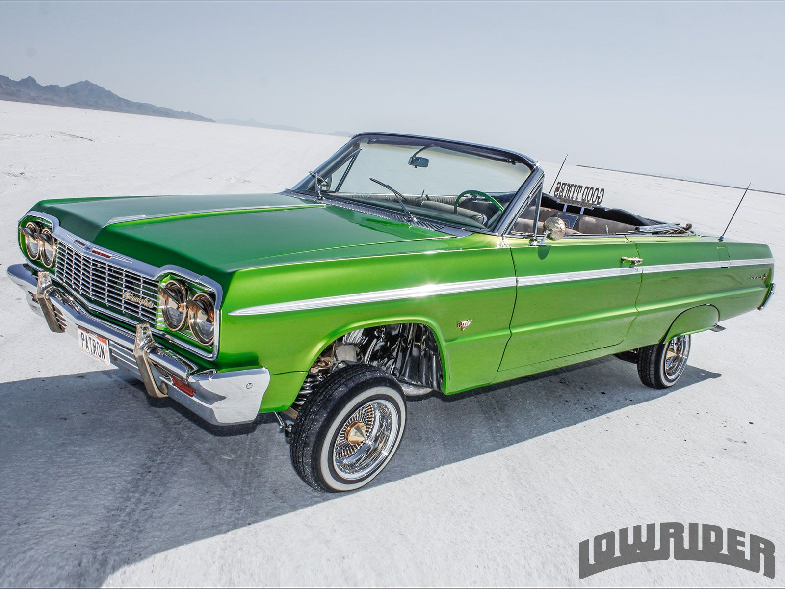 While he wanted to build the perfect 1964 chevrolet impala jose cornejo decided on building the more elusive convertible instead so as to stand out more