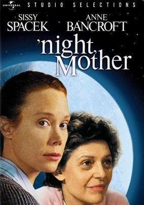 Night Mother Movie Poster Original 27x41 One Sheet Sissy Spacek Anne Bancroft