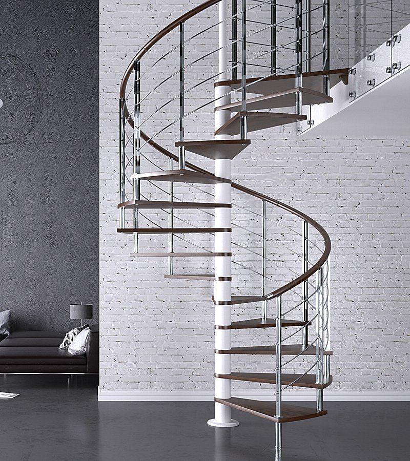 Best Apollo Stainless Steel Spiral Staircase Custom Spiral 640 x 480