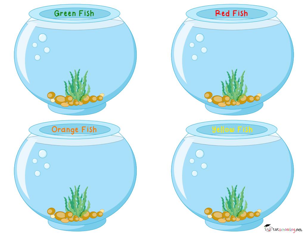 Free Goldfish Printables