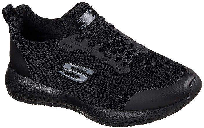 Skechers Squad Sr Womens Sneakers Wide