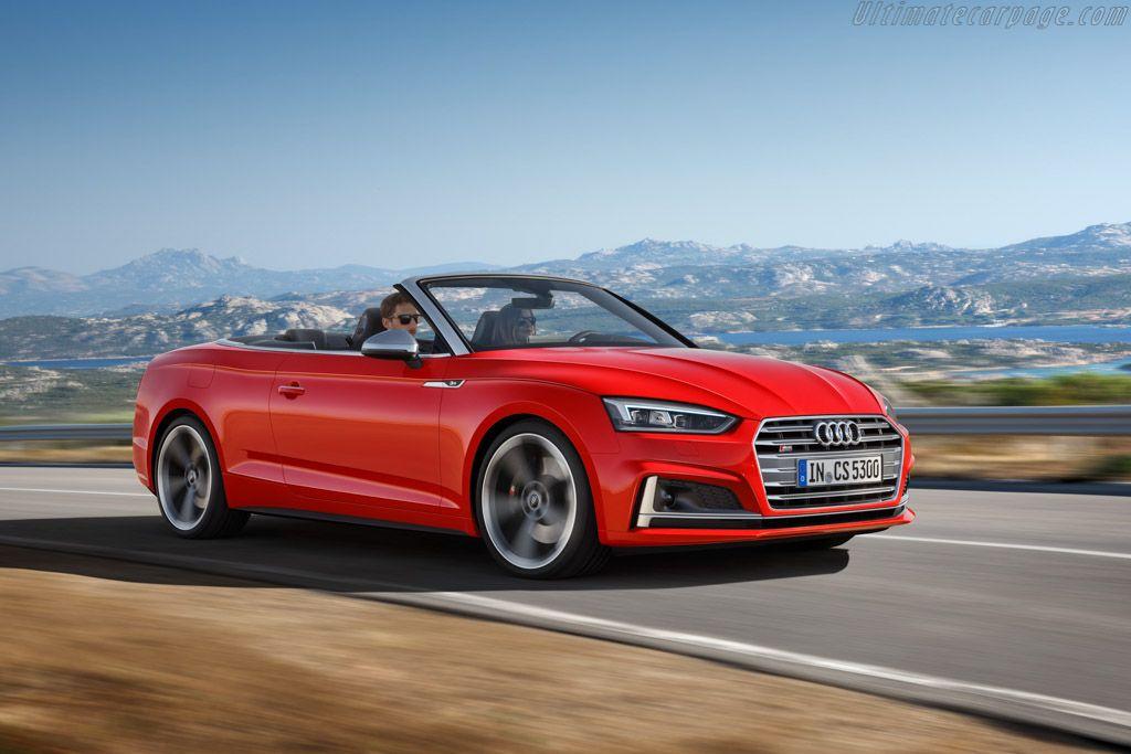 2017 Audi S5 Cabriolet Audi S5 Audi A5 Audi