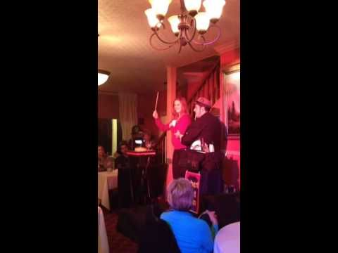 Plate Spinning with Robert Baxt! Part of his Winter Magic act at The Groveland Hotel, Feb. 22, 2014 We love Robert!
