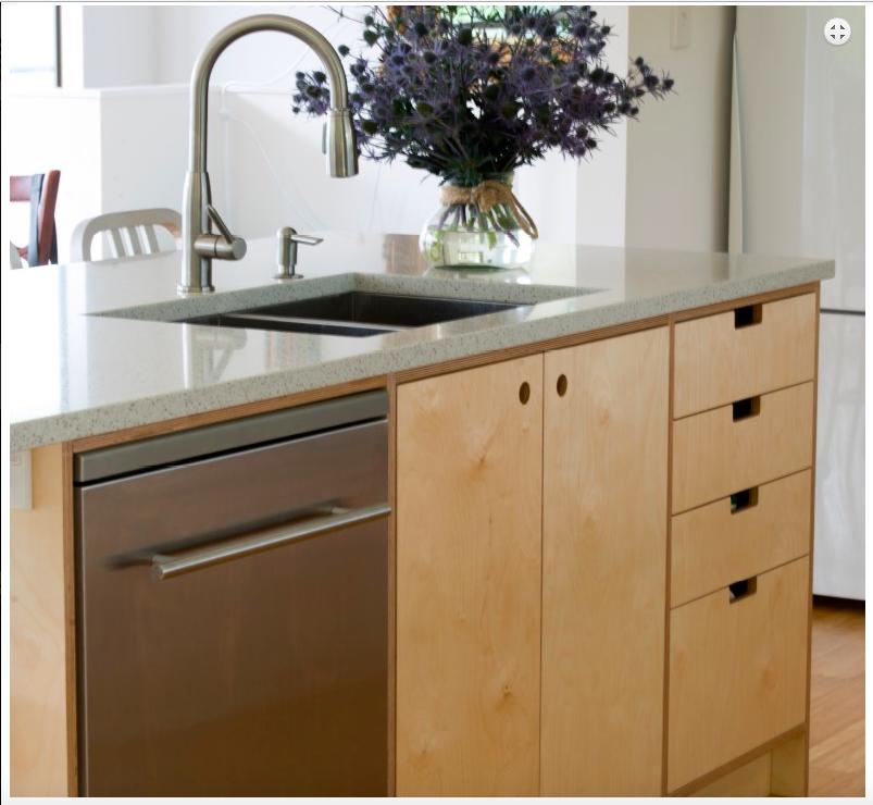 Beautiful Bespoke Ply Kitchen Craftsmanship In Northland New Zealand Plywood Kitchen Contemporary Kitchen Galley Kitchen Design