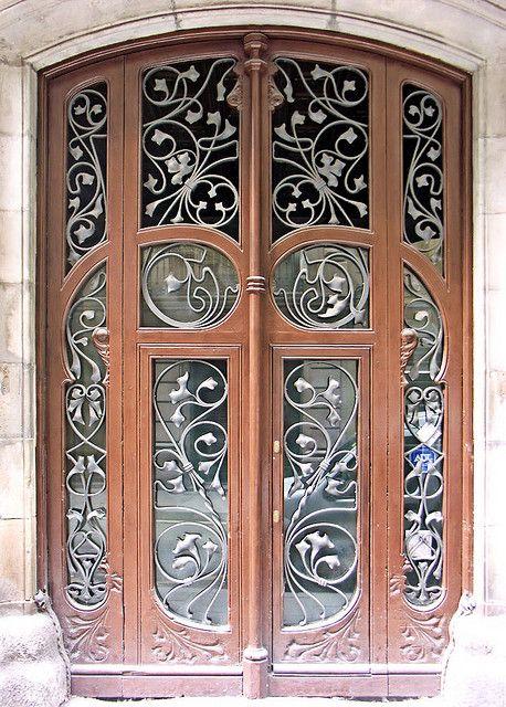 Barcelona Ample 035 E Gorgeous Doors Unique Doors Beautiful Doors