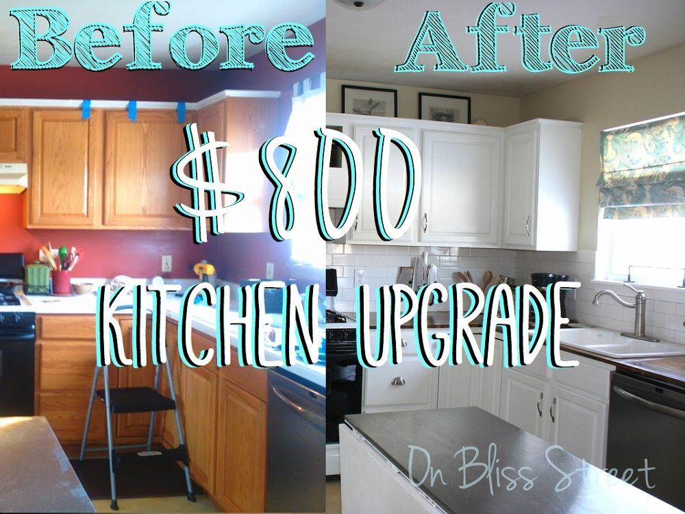 Perfect Awesome Kitchen Transformation For Under $1000!